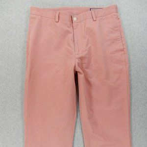 Vineyard Vines Classic Solid Flat Front CLUB Pants